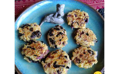 Croquettes de couscous à la menthe