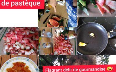 4 délicieuses recettes récup' ECORCES DE PASTEQUE